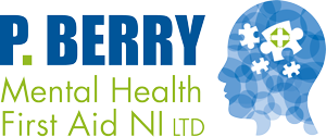 P Berry Mental Health First Aid NI Logo